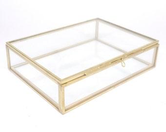 12 Rectangular Glass Boxes, Destash, Seconds, Glass Box, Jewellery Box, Jewelry Box, Glass Jewellery Box, Glass Jewelry Box, Keepsake Box