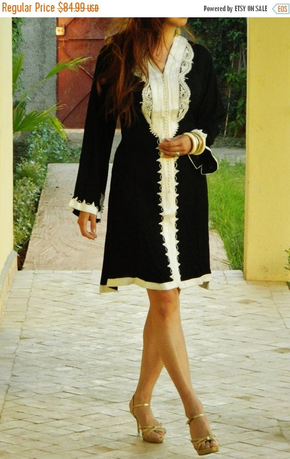 Spring Clothing Black Marrakech Dress - for resort wear, holidays, birthday gifts, resort wear, holiday shopping, weddin
