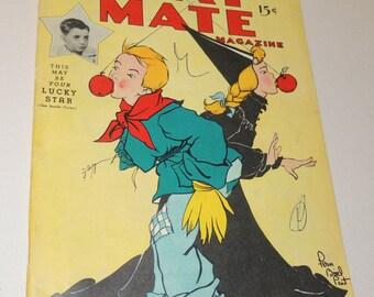 1949 HALLOWEEN Children's Play Mate Magazine
