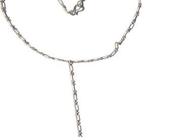 Emerald Paisley Y Necklace