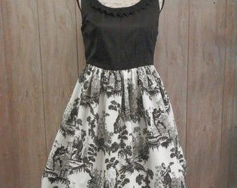 Asia Toile Dress,  Gothic Lolita JSK