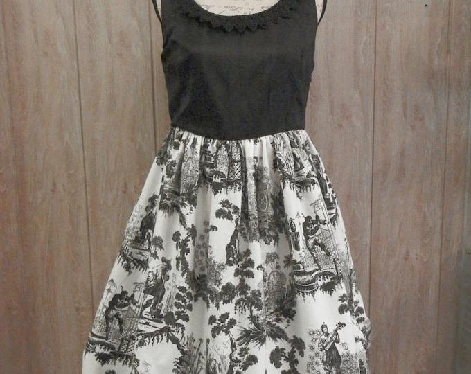 Asia Toile Dress