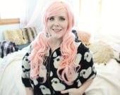 Pastel Pink wig | Wavy Long Pink wig | Scene wig, Cosplay wig, Lolita Kawaii wig | Lost Lamb