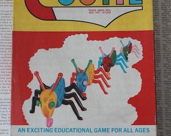 Vintage 1949 The Game of Cootie 1949 Schaper Cootie Game Vintage Cootie Game
