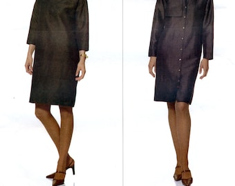 Vogue American Designer 2458 Sewing Pattern for Misses' Dress by Tom and Linda Platt - Uncut - Size 8, 10, 12