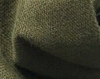 French terry Modal Supima cotton spandex Knit Fabric soft and luxurious Olive