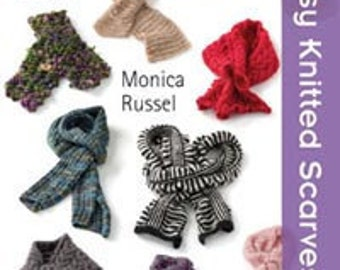 Twenty to Make Easy Knitted Scarves pattern book