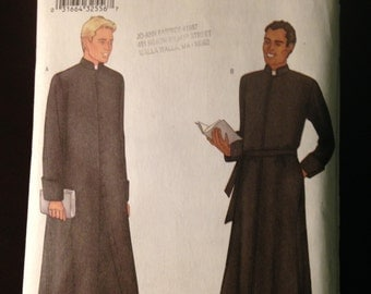 Butterick Pattern 3648 Historical clergy monk Costume sizes 44 46 48
