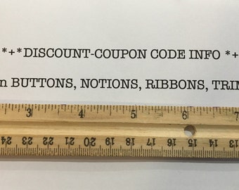 DISCOUNT on Sewing Trims, Notions, Ribbons, Burlap Ribbon, Fabric Ribbon, Buttons, Fabric and More