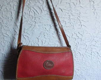 70's/80's Vintage Original Dooney and Burke Shoulder Bag made in USA