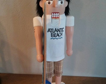 Duude, Its a Surfer Nutcracker (Made to order)
