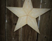 Large Rustic wood star #503