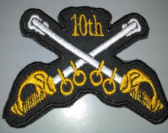 9th & 10th Cavalry Patches