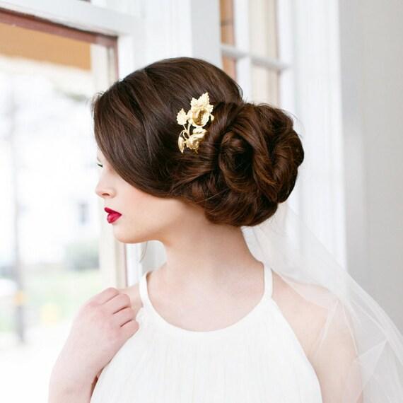 Victorian Hair Clip, Rose Hair Clip, Victorian, Bridesmaids, Floral Hair Barrette, Bridesmaid Gift, Cabbage Rose, Victorian VICTORIAN ROSE
