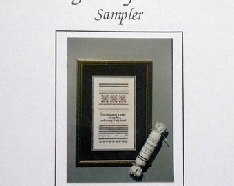 50%OFF Diane K Tolle SONG In My Heart Sampler - Counted Cross Stitch Pattern Chart