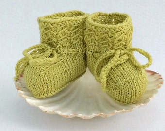 Knit Baby Booties, Wool Baby Shoes, Baby Girl Booties, Baby Boy Shoes, Coming Home Outfit