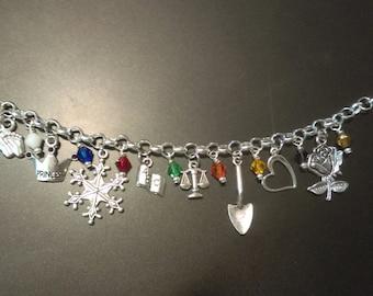 LDS Young Women's value charm bracelet
