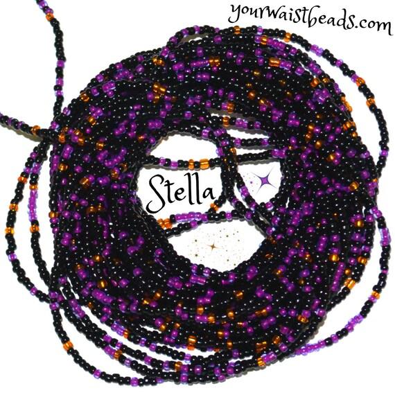 Waist Beads ~Stella ~ YourWaistBeads.com