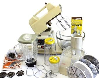 Oster Kitchen Center Blender / Stand Mixer Small Appliances 1980s Kitchen