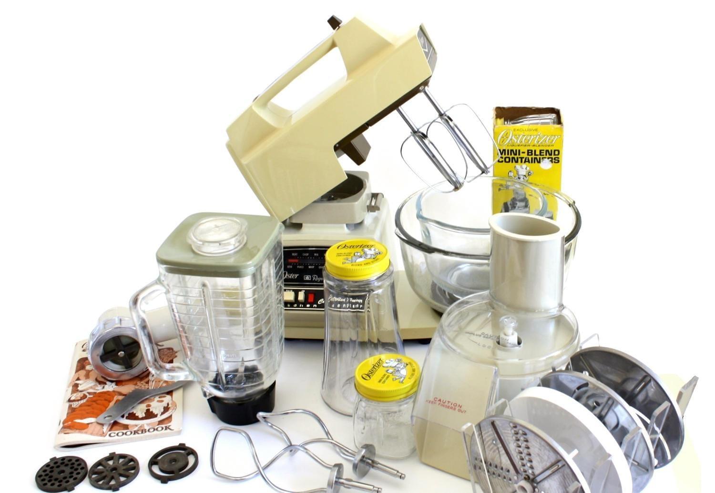 Uncategorized Oster Mixers Small Kitchen Appliances oster kitchen center blender stand mixer small appliances 1980s kitchen