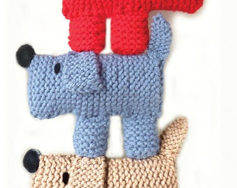 Scruff The Dog Learn To Knitting Kit - pinterest.com