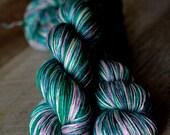 Sock Yarn Single - 70/30 SW Merino/Silk - Christmas - Travel Plans