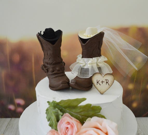 western theme wedding cake toppers western cowboy boots wedding cake topper western themed ivory 27022