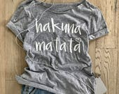 Hakuna Matata. Women's Wide Neck Shirt. Disney Gift Shirt. Women's T Shirt. Women's Relaxed Fit. Disney Shirt. Disney Gift T Shirt.