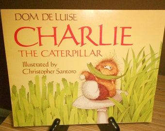 """Dom Deluise """"Charlie the Caterpilla"""" vintage book    1990"""