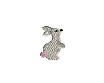 Mini Rabbit Machine Embroidery Design-INSTANT DOWNLOAD