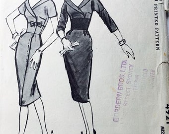 McCalls Vintage 1959 dress pattern
