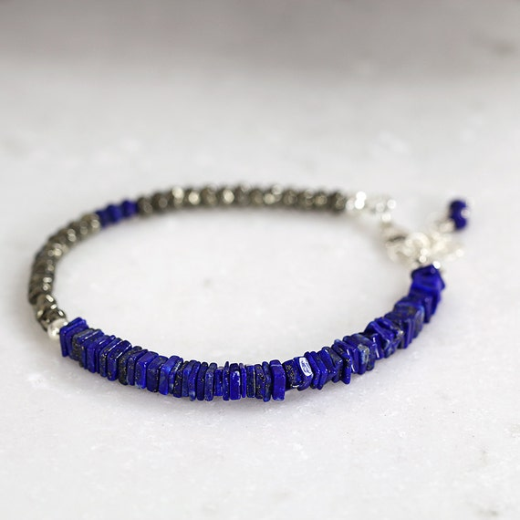 Lapis Lazuli Bracelet - Blue Bracelet For Her