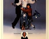 "MERMAIDS. Original 1990 US 27"" x 41"" Movie Poster. Cher,Bob Hopkins,Winona Ryder,Michael Schoeffling,Christina Ricci(film Debut at 10 Ys.)"