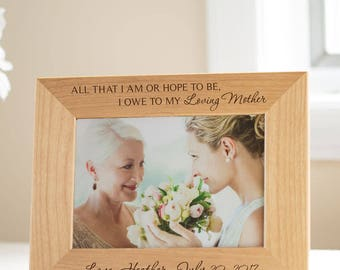 personalized mother of the bride picture frame mother of the bride gift wedding gifts for parents unique mother of the bride ships fast