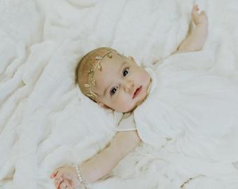 Gold Headband, Baby Girl Headband, Baby Headband, Baby Accessories, Newborn Headband, Girls Headbands, Gold Baby Headband, Gold Halo