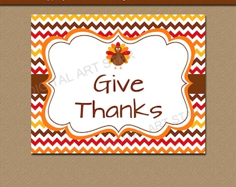 Thanksgiving Decor, Printable Thanksgiving Decor, Thanksgiving Wall Art, EDITABLE Thanksgiving Sign, Home Decor, 8x10 Thanksgiving Sign T3