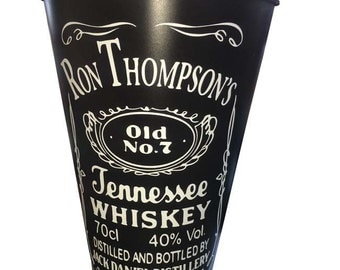 Personalized Jack Daniels Ice Bucket / Vase