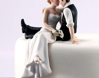 Wedding Cake Topper, Wedding Cake Top, Look of Love Wedding Cake Topper, Bride and Groom Cake Topper
