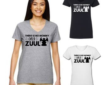Funny shirt for mom - There is no Mommy only Zuul - movie quote - Ghostbusters - great gift! - tank top
