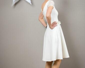 "Weddingdress ""Tiffany"", in offwhite"