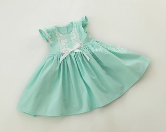 Vintage girls dress  Etsy
