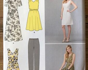 UNCUT Simplicity 1810 Dress, Pants, and Tunic Sewing Pattern Size XXS-XXL