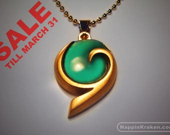 PREORDER - Kokiri's Emerald Pendant Legend of Zelda Ocarina of Time