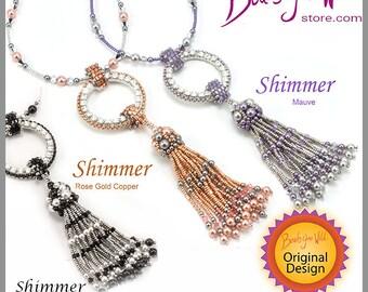 Shimmer Bead Weaving Necklace Kit