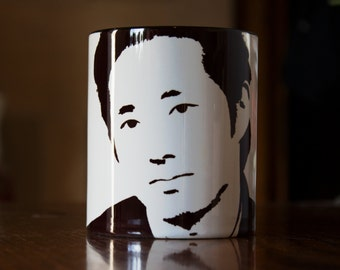 Glen Rhee, Steven Yeun, The Walking Dead, TWD, Walking Dead Gift, Walking Dead Mug, Walker Stalker Con, Hand Crafted Cup
