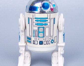 Vintage 1977 Star Wars Early Bird R2-D2 C85 Dark Blue Paint on Dome Very Rare