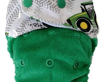 JOHN DEERE - snap in one multi fit nappy
