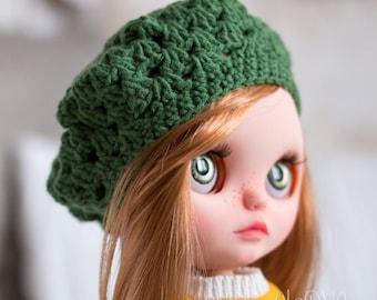 Blythe beret - green