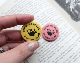 Book Badge Funny Gift For Readers