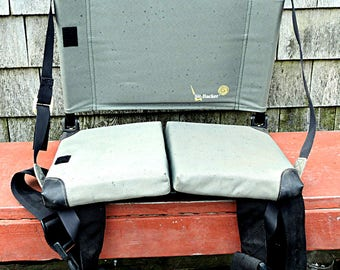 LL Bean Canoe Seat Backrest Industrial Outdoor Stadium Seat